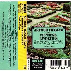 Viennese Favorites Arthur Fiedler, Boston Pops Music