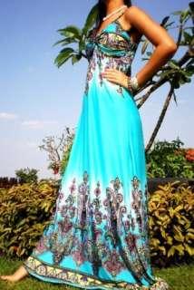 NEW AU Evening Princess Sexy Ladies Long Maxi Dress