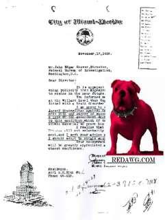 Al Capone Gangster Smuggler Bootleg Saint Valentine Day Massacare FBI