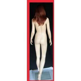 Mannequin Full Body Fiberglass Fimale #Goldy with Wig