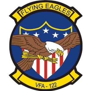 US Navy VFA 122 Flying Eagles Squadron Decal Sticker 3.8