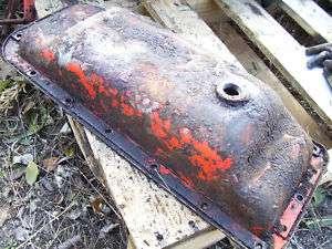 VINTAGE JI CASE VAC TRACTOR ENGINE OIL PAN
