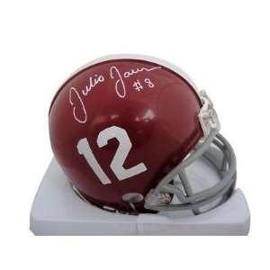 Julio Jones Signed Alabama Crimson Tide Mini Helmet GAI