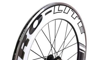 Pro Lite Vicenza 90mm Carbon Track Road Bike Rear Wheel Clincher Alloy