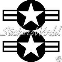 United States USAF NAVY ARMY American Air Force Sticker