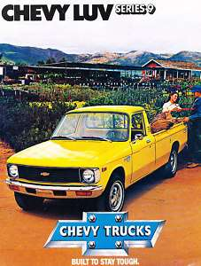 1979 Chevrolet Chevy Luv Truck Original Sales Brochure