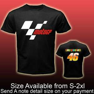 new motogp valentino 46 rossi black T Shirt