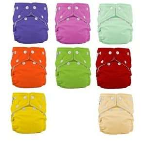 12 Pack One Size Cloth Diapers Girl Colors  NEW COLORS