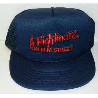 Nightmare On Elm Street Movie Logo Embroidered Patch Baseball Hat