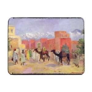 A Village in the Atlas Mountains (oil on   iPad Cover