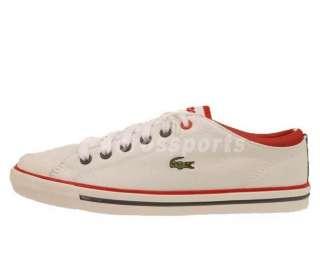 Lacoste Shore AP SRW White Canvas New Womens Casual Shoes