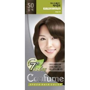 Confume Speed Hair Color 50 Brown: Beauty