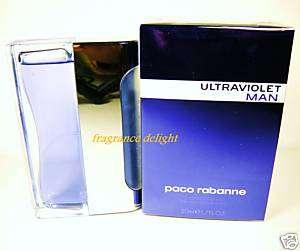 Ultraviolet Men By Paco Rabanne EDT. EDT1.7 oz 50ml NIB