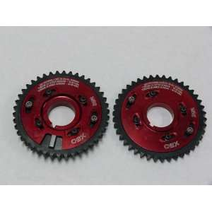 OBX Red Adjustable Cam Gear   96 04 Ford Mustang 4.6L