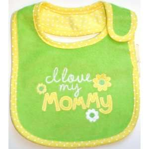 Os One Size Carters Baby Bib I Love My Mommy 794269: Baby