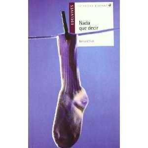 Nada que decir (Alandar) (Spanish Edition) (9788426368249
