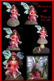 OOAK Fairies Fairy Fanasty Art Figure sl creations ADSG IADR