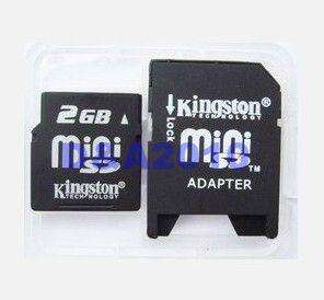 Mini SD to SD Memory Card Reader Adapter Convertor new