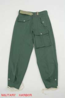 WWII German Heer panzer summer HBT reed green trousers W32