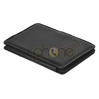 Black Flip Leather Case Cover Pounch For New  Kindle 4