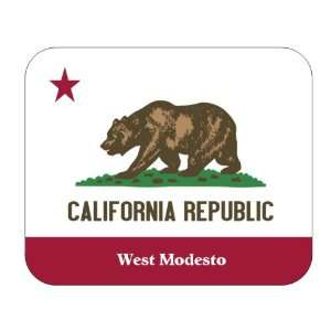 State Flag   West Modesto, California (CA) Mouse Pad: Everything Else