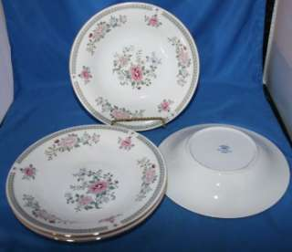 Trisa Fine Porcelain China Dinnerware Soup Salad Bowls Set of four