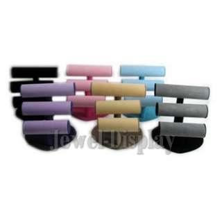 Black Triple T Bar Bracelet Watch Heart Based Display