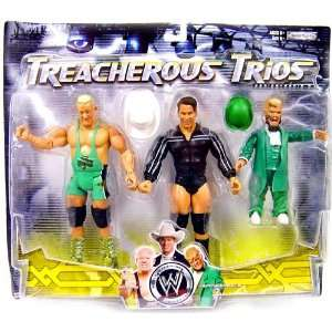 WWE Wrestling Exclusive Series 9 Treacherous Trios Action Figure 3
