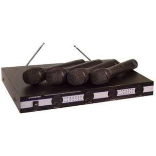 Pyle PDWM5000 4 Mic VHF Wireless Microphone System