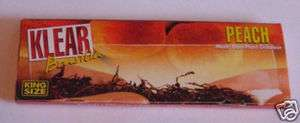 KLEAR KING transparent Rolling Paper PEACH