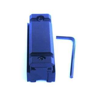 11mm to 20mm Weaver Rail Scope Mount Base Adapter Black