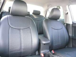 2007 2011 Toyota Yaris Sedan PVC Seat Covers Cover Set