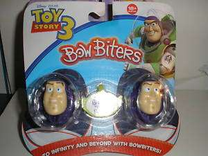 NEW 1 PACKAGE DISNEY TOY STORY 3 BUZZ BOW BITERS