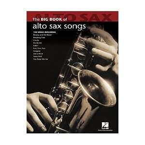 Hal Leonard Big Book Of Alto Sax Songs Musical