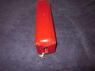 LIONEL PREWAR 605 O GAUGE RED & IVORY PULLMAN PASSENGER CAR