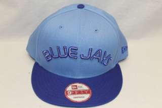 TORONTO BLUE JAYS NEW ERA NCAA SNAPBACK HAT CAP REVERSE BABY BLUE/BLUE