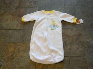 NWT Carters Baby Sleep Sack sleepbag Pajamas 0 3 6 9
