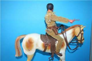 action FIGURE TONTO + his horse SCOUT in a nice condition. BUT, Tonto
