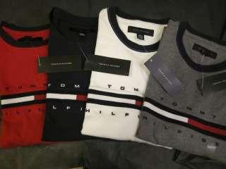 Tommy Hilfiger mens cotton crew neck T shirt S,M,L,NWT