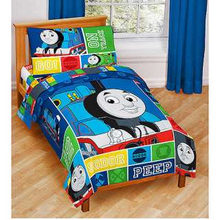 THOMAS Trains TODDLER BEDDING SET Bed in a Bag Comforter+Sheets Boys