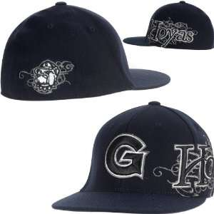 Top Of The World Georgetown Hoyas Brigade Team Color Hat One Size Fits