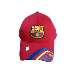 FC BARCELONA OFFICIAL TEAM LOGO CAP / HAT   FCB029  Sports