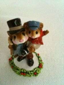 Wee Forest Folk Bob Cratchit & Tiny Tim CC 2