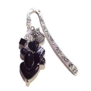 The Black Cat Jewellery Store Tibetan Silver Black Ceramic