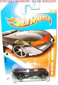 THE BATMAN BATMOBILE CAR HOT WHEELS DIECAST 2010 2011