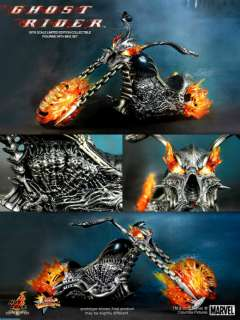 Hot Toys Ghost Rider Johnny Blaze/Hell Cycle MMS133  UK