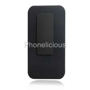 RUBBERIZED COMBO HYBRID HOLSTER CLIP + PHONE CASE STAND LG THRILL 4G