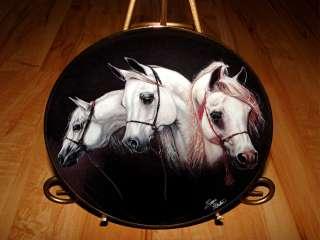 and Free MAGNIFICENT TRIO Susie Morton Danbury Mint Horse Plate