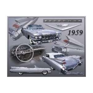 1959 Cadillac Eldorado Biarritz Collectible Metal Sign