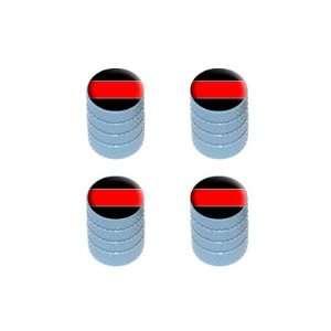 Thin Red Line   Firemen Tire Rim Valve Stem Caps   Light